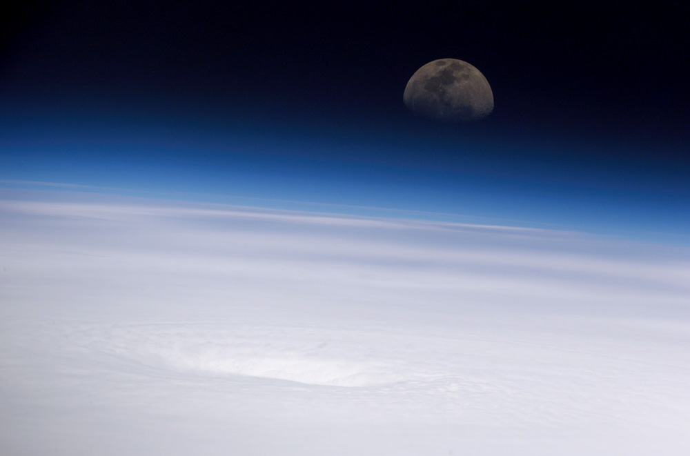 Blue Horizon NASA ISS - Pics about space