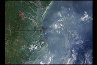 Haze Across Eastern United States