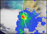 Record Rainfall over Bombay