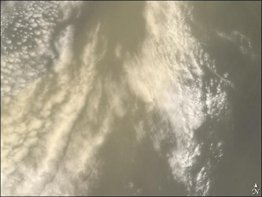 Saharan Dust Cloud Sails Toward U.S.