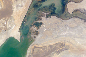 Retreating Aral Sea Coastlines - related image preview