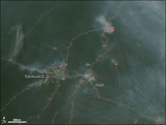 Fires in Acre, Brazil