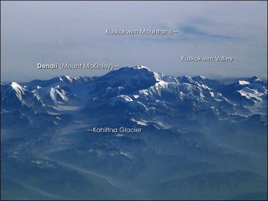 Forest Fire Smoke Surrounding Mt. McKinley - related image preview