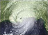 Hurricane Katrina Arrives
