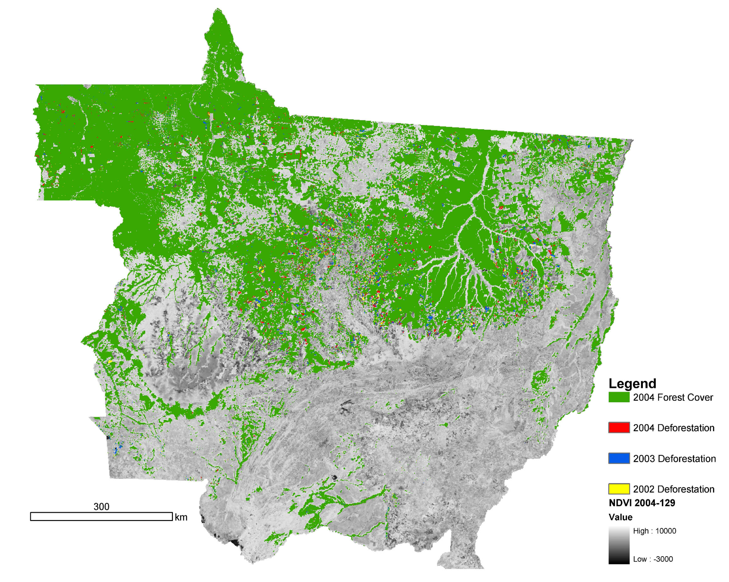 download large image  7 MB  JPEG  2319x1851 Amazon Rainforest Map Deforestation