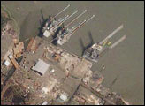 Hurricane Damage: Sabine Pass, TX