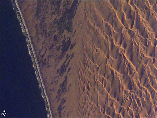 Dune Patterns, Namib Desert, Namibia