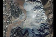 Landslide, Neelum River, Pakistan