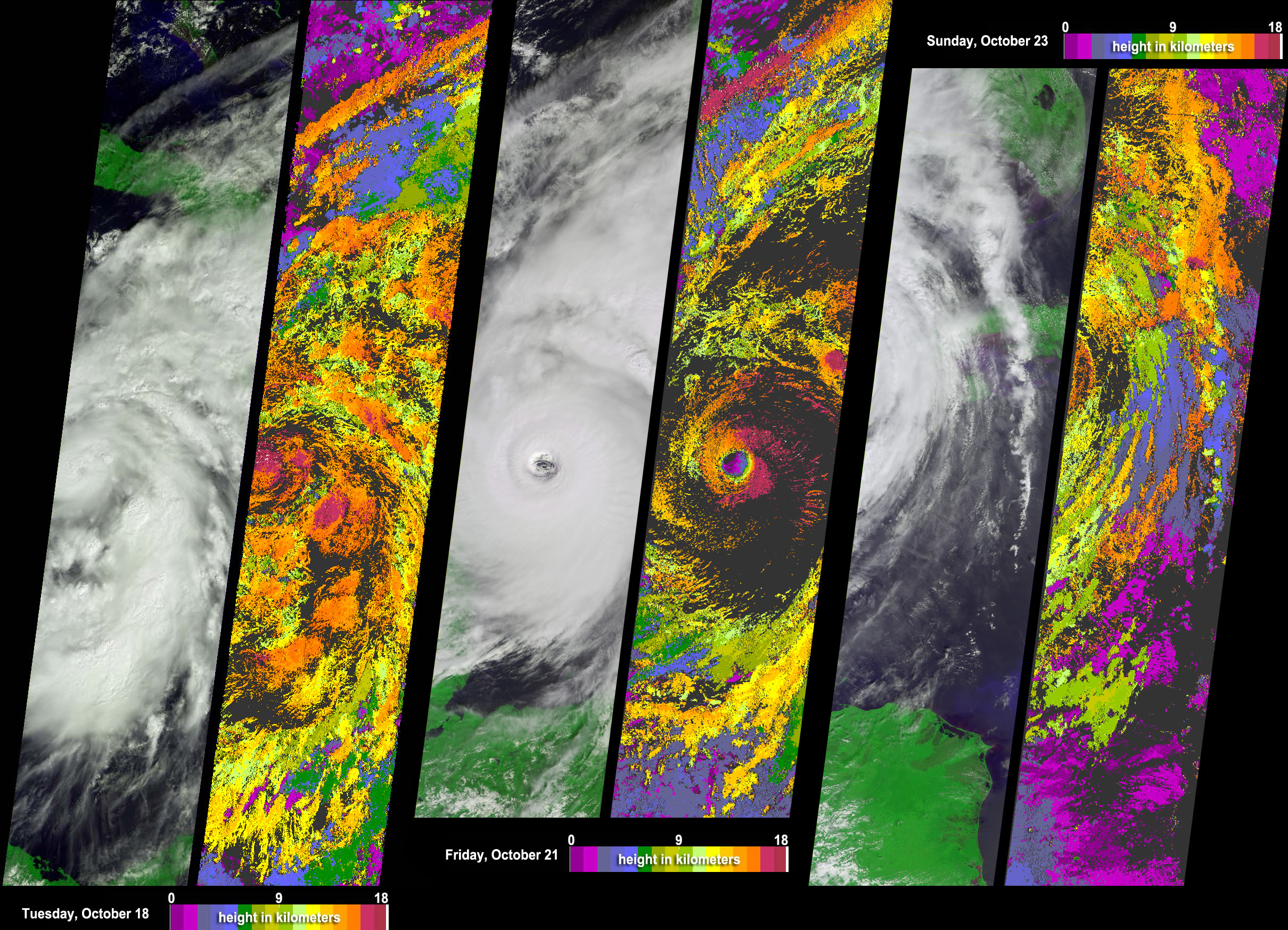Tracking Hurricane Wilma across the Caribbean - related image preview