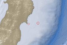 Earthquake and Tsunami near Sendai, Japan - selected image