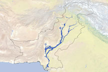 Flood Extent in Pakistan