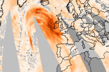 Dust Blown from Africa to Scandinavia - selected image