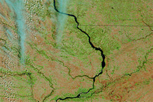 Rising Rivers in the U.S. Midwest