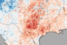 Drought and Heat Create Hazardous Fire Conditions in Texas