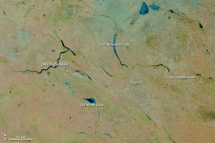 Spring Floods in Saskatchewan