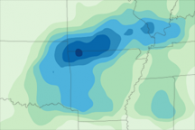 Heavy Rain in Central United States