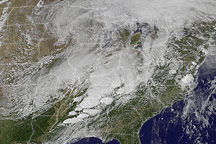 Severe Tornado Outbreak in the Southern United States