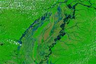 Flooding along the Mississippi River