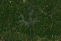 Tornado Tracks in Alabama and Georgia