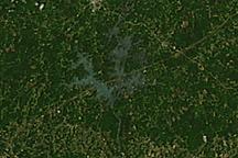 Tornado Tracks in Alabama and Georgia