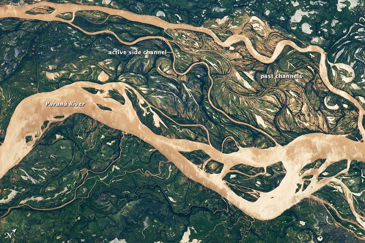 Paraná  River Floodplain, Northern Argentina