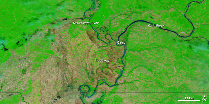 Spring Floods in the U.S. Midwest and Canada