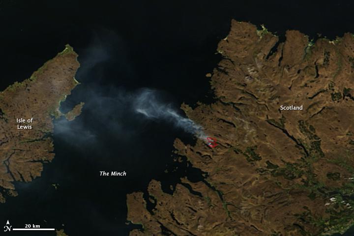 Fire in Scotland