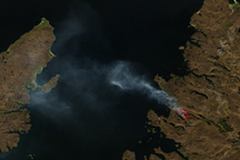 Fire in Scotland