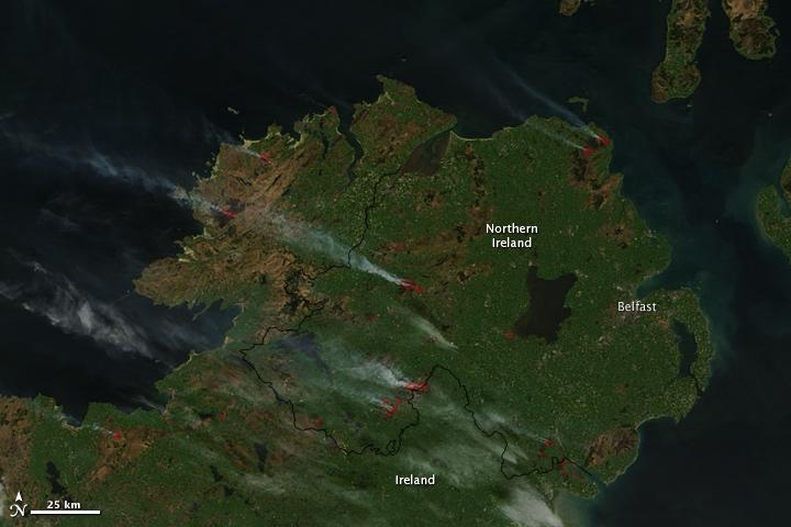 Fires in Ireland