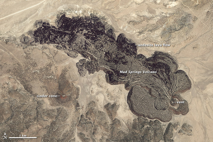Mud Springs Volcano, Nevada - related image preview