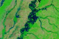 High Waters along the Mississippi River