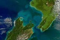 Turbid Waters Surround New Zealand