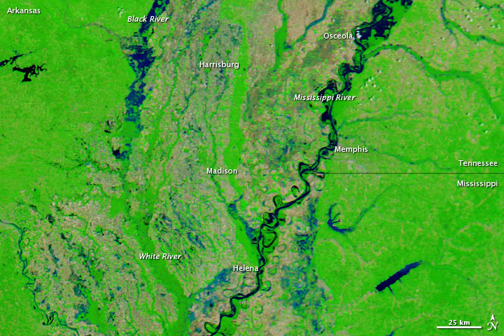 Flooding in Arkansas