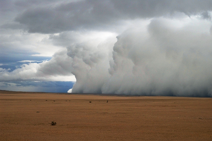 Heavy Rain in Namibia and South Africa