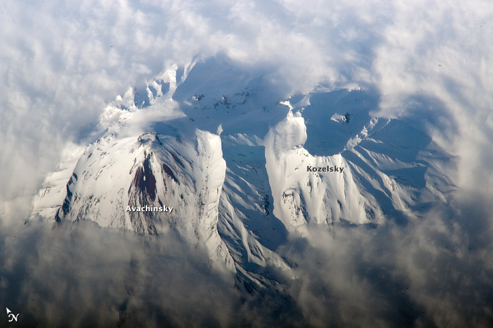 Avachinsky Volcano, Kamchatka Peninsula