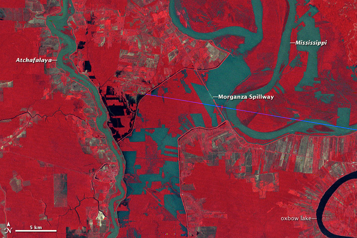 Morganza Floodway, 1973 - related image preview