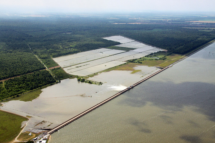 Morganza Spillway Opens in Louisiana