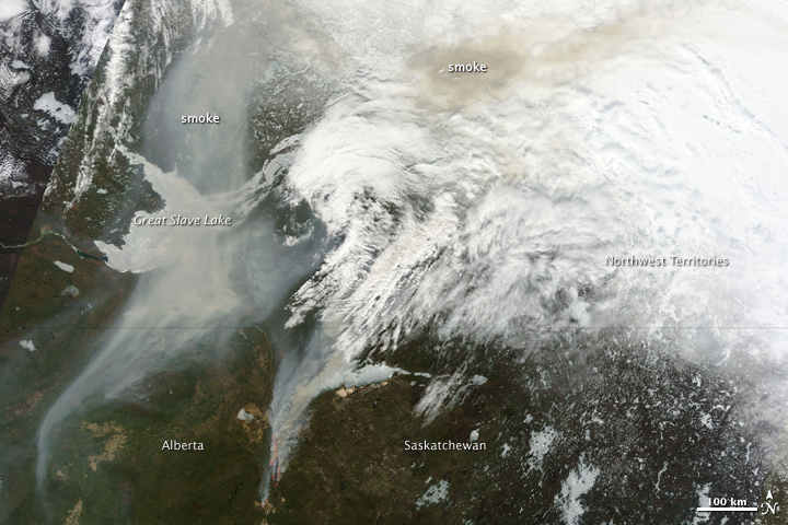 Wildfires in Alberta, Canada