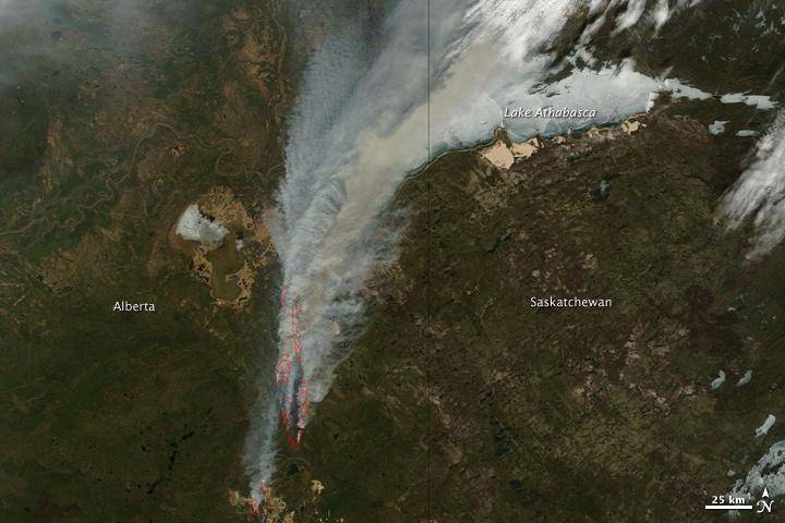 Wildfires in Alberta, Canada