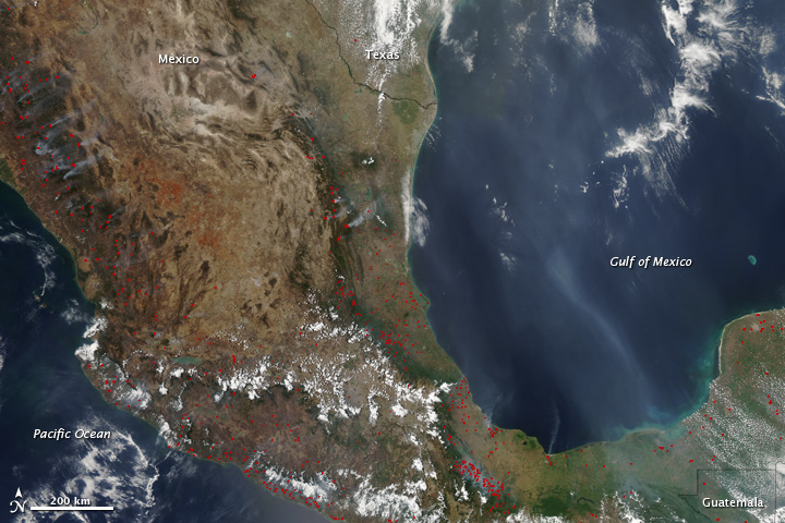 Busy 2011 Fire Season in Mexico