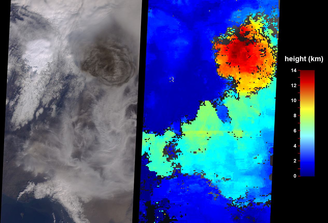Grímsvötn Volcano Injects Ash into the Stratosphere  - related image preview