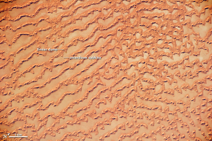 Ar Rub' al Khali Sand Sea, Arabian Peninsula