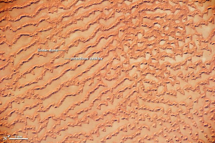 Ar Rub' al Khali Sand Sea, Arabian Peninsula