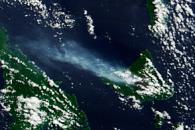 Vog from Ambrym Volcano