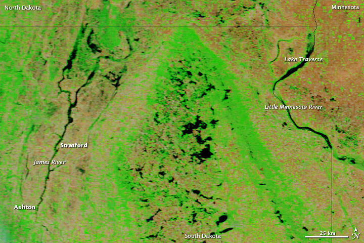 Flooding in South Dakota