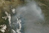Smoke over Colorado