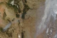 Wallow Fire Sends Smoke across Midwest