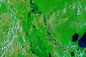 Lingering Floods in Louisiana