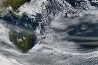 Ash from Puyehue-Cordón Caulle over Australia and New Zealand