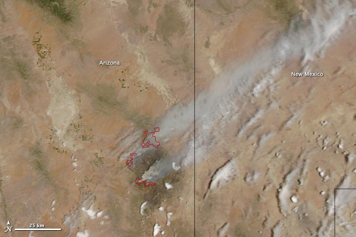 Horseshoe 2 Fire, Arizona